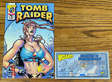 Tomb Raider #1/2 Special w/Coa from Wizard #106 Exclusive Top Cow Nm Comic Book