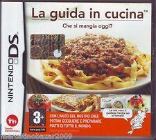 LA GUIDA IN CUCINA Che si Mangia Oggi? (2008) NINTENDO DS EDIZIONE ITALIANA