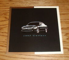 Original 1997 Oldsmobile Cutlass Foldout Sales Brochure 97