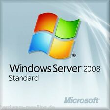 Windows Server 2008 Standard ohne HypV 32Bit x64 German DVD 1- 4 CPU 5 Clt Neu