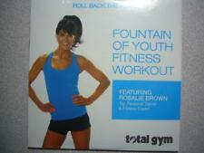 Total Gym Fountain of Youth Fitness Workout DVD with Rosalie Brown