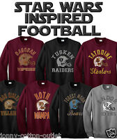 Choose Your Team Star Wars Inspired American Football Style Mens Retro Sweater