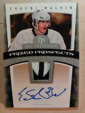 2006-07 HOT PROSPECTS Evgeni MALKIN /199 Auto Patch Rookie Penguins Autograph RC