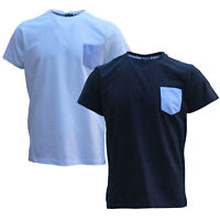 100% Cotton Adults Mens Basic Short Sleeve Crew Neck Tees Casual T-Shirt Tops