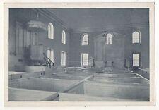 Pohick Church, LORTON VA, Altar, Pulpit, Canopy, Vintage Virginia Postcard