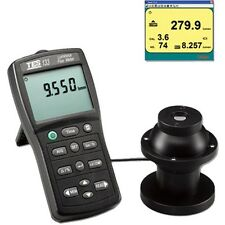 Handheld Luminous Flux Meter Light Tester Range 7000 Lumens Rs232 Tes 133