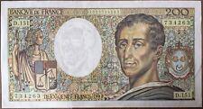 200 FRANCS MONTESQUIEU (1992) D.151 - BILLET DE BANQUE FRANCAIS (TTB)