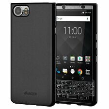 Amzer Hybrid TPU Bumper Soft Back Phone Cover Case for Blackberry KEYone Mercury