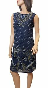 New Women 1920's Gatsby Flapper Charlston Vintag Dress From Size 8 to PLUS SIZES