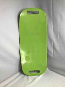 Simply Fit Workout Balance Board  Lime Green Pre-owned