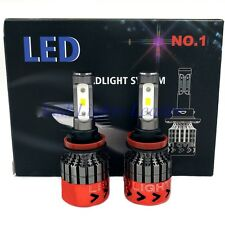 400W 40000LM H8 H9 H11 6000K White Fog Lights CREE LED Headlight Conversion Kit