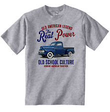 VINTAGE AMERICAN CAR FORD F1 PICK UP TRUCK - NEW COTTON T-SHIRT