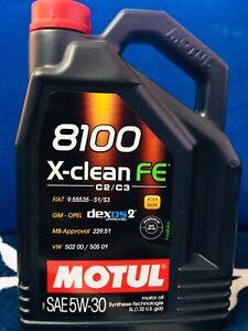 Motul 8100 X-Clean FE 5W-30 5 L