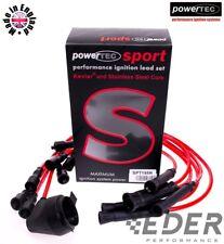 🏁 powerTEC Sport 8mm BMW e34 520i 525i M20 B25 zestaw przewody kable zapłonowe