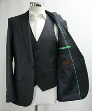 Men's Harry Brown Charcoal Grey 3pc Suit (40R).. Sample 5838