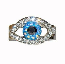 Butler And Wilson Eye Crystal Ring SALE