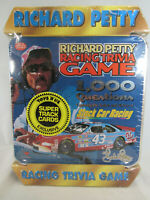 Vintage Richard Petty Racing Trivia Game 1,000 Questions New in Plastic