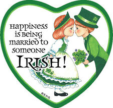 Tile Magnet: Married to Irish