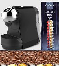 NESPRESSO LATTISSIMA STYLE NESPRESSO POD SYSTEM BLAZER COFFEE MACHINE + POD STND