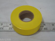 "(1) roll Yellow Flagging Tape 1-3/16"" x 300' 2 mil Trail Marking Free Shipping!!"