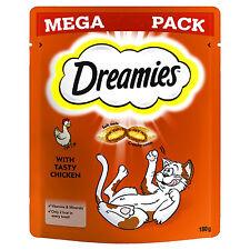 Dreamies Cat Treats Mega Pack 180g Chicken
