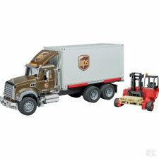 Bruder Mack Granite With Container And Forklift 1:16 Scale Model