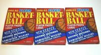 1991-92 Fleer Update Basketball Trading Player Photo Cards Set of 3 New