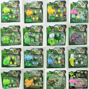 Plants VS Zombies Action Figure PVZ Pea Shooter & Zombie Toy Set Game