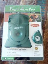 New listing Good Life Bark Control Pro Dog Silencer Pro Ultrasonic Training System