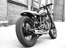 BEAUTIFUL CLASSIC MOTORCYCLE CANVAS PICTURE #34 STUNNING RETRO MOTORBIKE CANVAS
