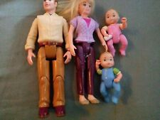 Fisher Price Loving Family Prople Mom Dad Baby Boy Girl Lot 4