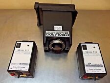 Polaroid Electrophoresis Gel Camera & 2 Life Tech Type 125 Power Supplies-M1460