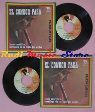 LP 45 7'' SORTILEGE DE LA FLUTE DES ANDES FACIO SANTILLAN El condor no cd mc dvd