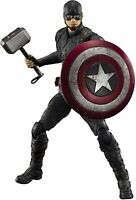 S.H. Figuarts Captain America Final Battle Action Figure Bandai Tamashii Nation