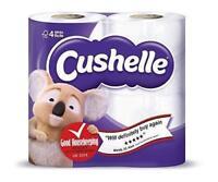 12 x Cushelle Luxury Soft Toilet Tssue Roll Tissue White Rolls