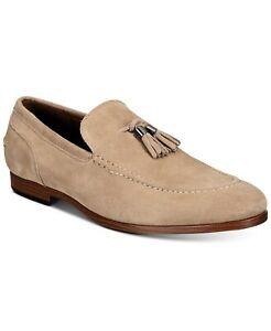 Bar III Kingston Men Slip On Apron Moc Toe Tassel Loafers