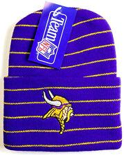 Minnesota Vikings Hat Cuffed Knit Beanie