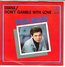 "PAUL ANKA  Diana PICTURE SLEEVE 7"" 45 rpm vinyl record NEW + jukebox title strip"