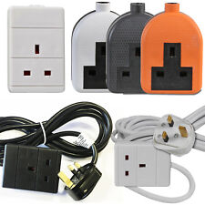 Masterplug Bog5-ms 1 Gang 13 a Indoor Power Socket With 5m Extension Lead White