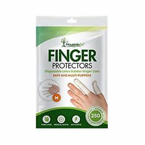 Finger Cots Finger Protectors Latex Finger Condoms - Finger Cover 250pcs