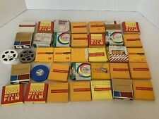 LOT Vtg 1960s 70s 8mm Home Movie Films Roadside Landscape Scenery Canada & More