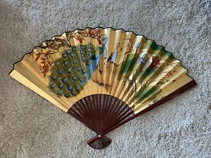 Giant Chinese Fan Size 44 In for Home Decor