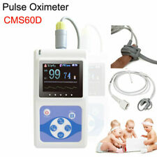 Cms60d 24h Neonatal Pediatric Pulse Oximeter Spo2 Pr Hr Monitor Probesoftware