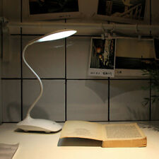 LED Flexible Book Reading Light Bed Table Desk Lamp Rechargeable Portable Touch