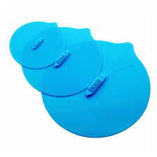 3 Sizes/Set Silicone Suction Seal Lid Cap Cup Bowl Microwave Food Storage Cover