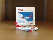 TEA SWITZERLAND BOEING 737-700 1/500 SCALE MODEL BY HERPA WINGS