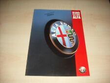 50854) Alfa Romeo 145 146 155 166 GTV Spider Prospekt 09/1995
