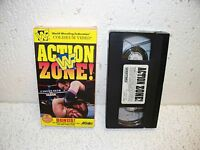 WWF Action Zone! VHS Video WWE RARE Vader Undertaker Bret Hart