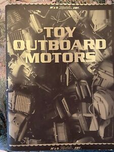 VINTAGE 150 PAGE BOOKLET IDENTIFICATION GUIDE OF TOY OUTBOARD MOTORS