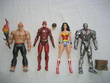 DC Comics Multiverse Figure Lot #3 Wonder Woman Flash Justice League Cyborg JLA